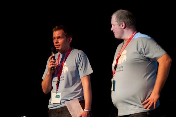 Moderation des CloudCamp Frankfurt 2012
